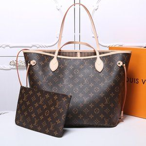 Authentic🌞LOUIS VUITTON🌞 Neverfull MM Tote Bag